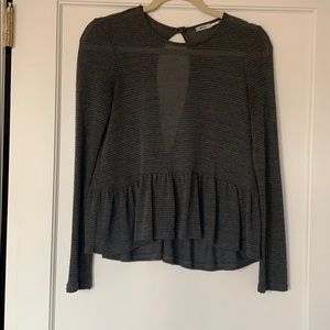 Gray top from Kimchi Blue!